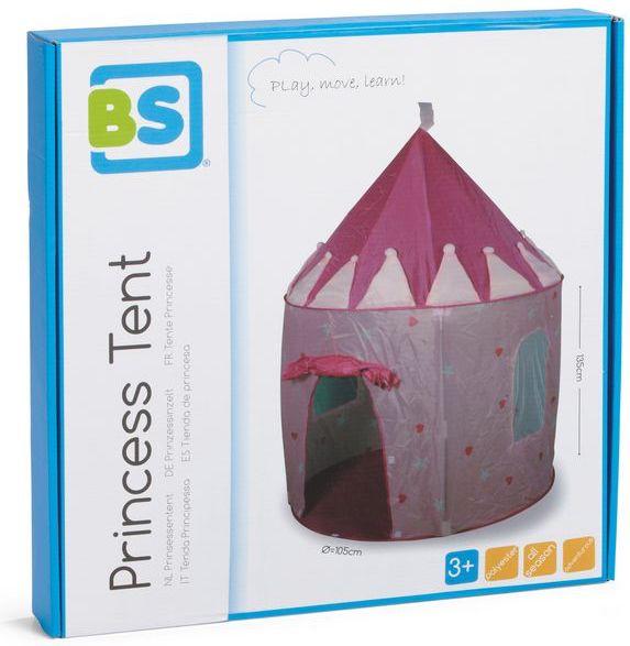 różowy namiot księżniczki gwiazdki BUITEN SPEEL