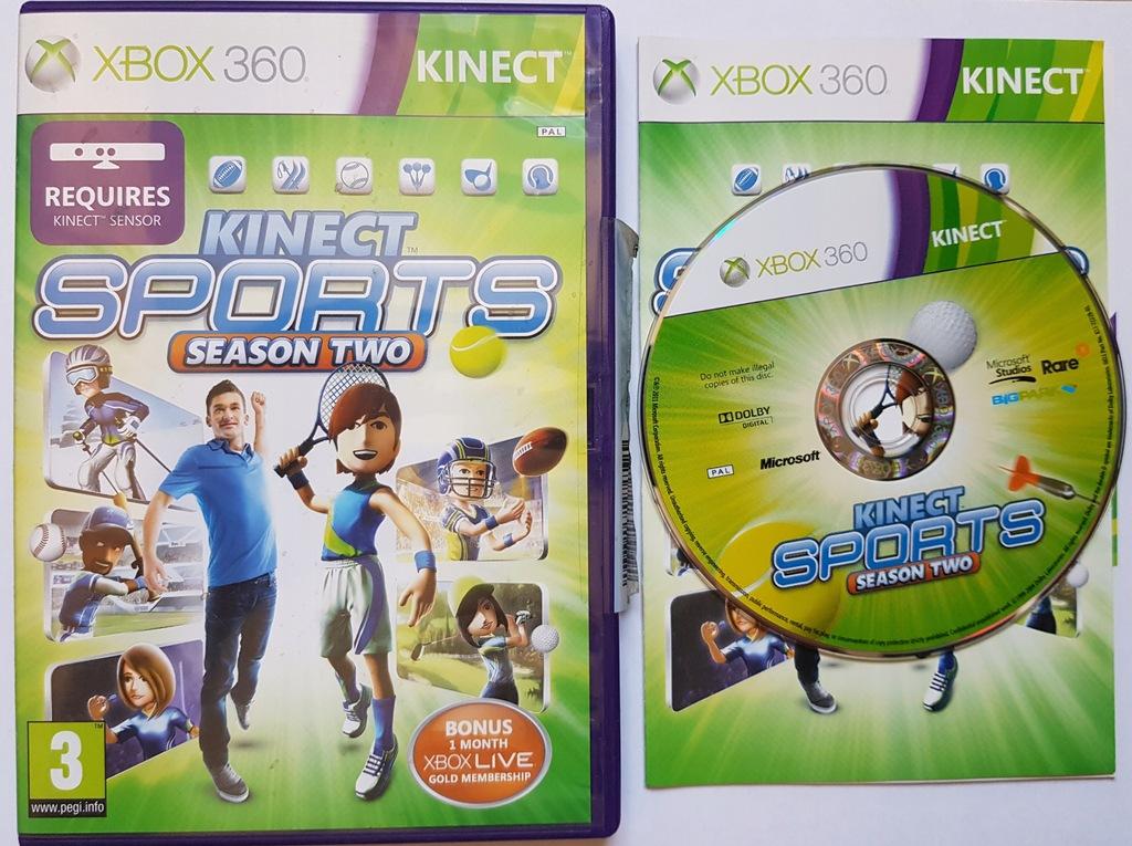 Kinect Sports Season Two Xbox 360 Sezon 2 Pl 9516051979 Oficjalne Archiwum Allegro