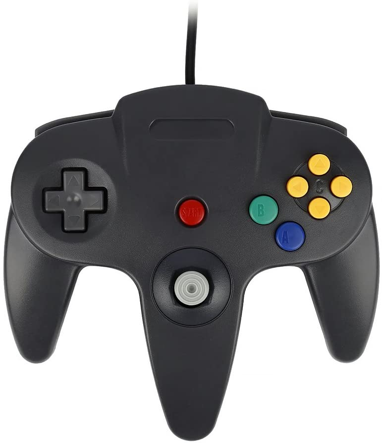 Kontroler Joystick konsoli Nintendo 64 N64 QUMOX