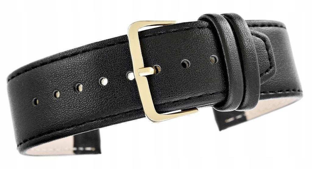 Pasek do zegarka CLASSIC - skóra 24 mm 4999-24XXL-
