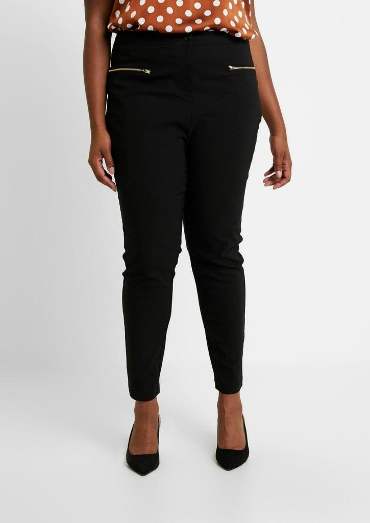 New look spodnie wysoki stan 46