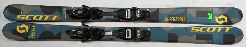 NARTY freeride SCOTT SCRAPPER JR 162cm rocker Nowe