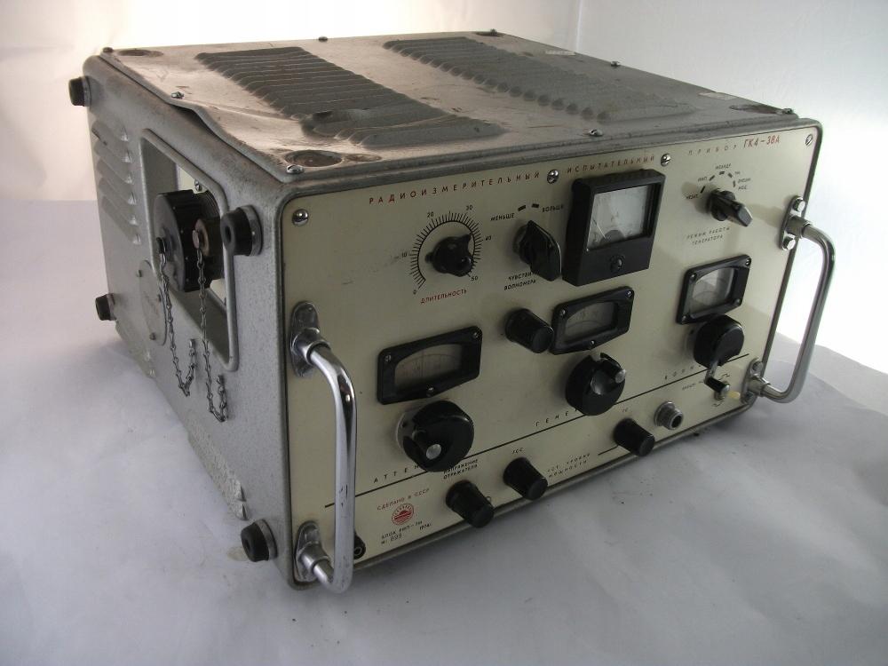 Generator pomiarowy GK4 - 38A sygnałów wojskowy