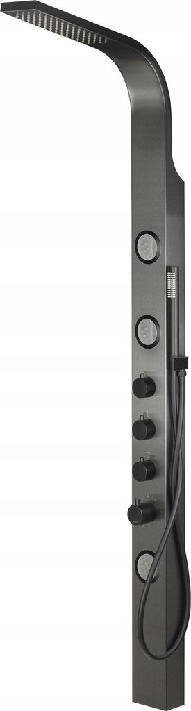 Panel Corsan Snake S002 grafitowy z termostatem
