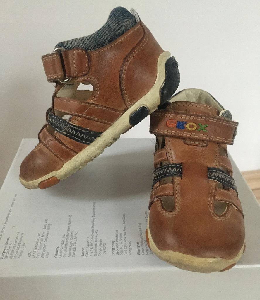 Geox lekkie skórzane buty 20