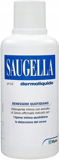 Saugella Dermoliquido 500ml płyn do higieny intym.