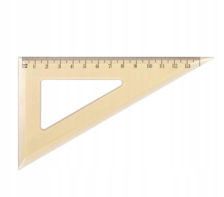 Ekierka szkolna GR-853 13,5cm GRAND