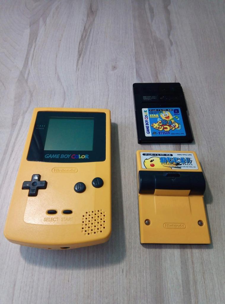Game Boy Color + Pokemon Pinball