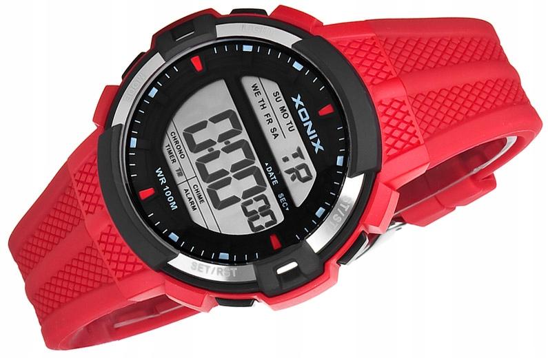 Zegarek Sportowy Dla Chłopca XONIX WR100m - LCD