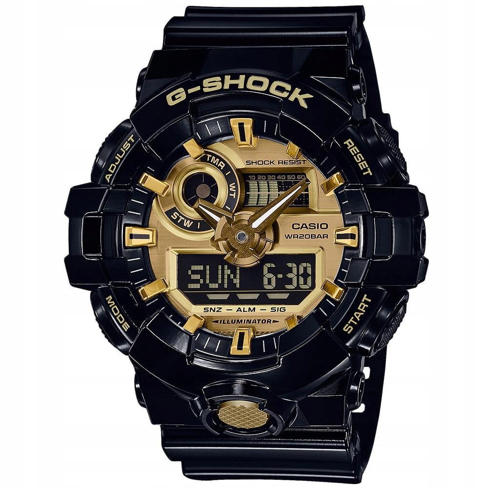 Zegarek Casio G-Shock GA-710GB-1A Zestaw / SKLEP