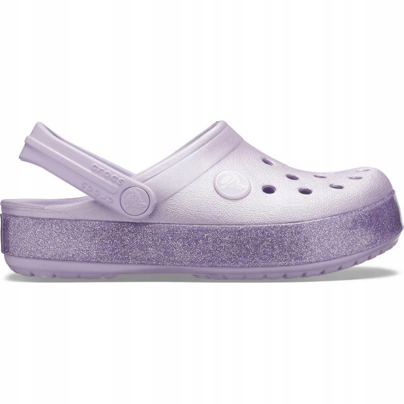 Buty Crocs Crocband Glitter Clog Jr 205936 530 24-