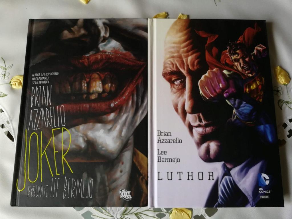 Obrazy Grozy - Joker / Luthor - Brian Azzarello