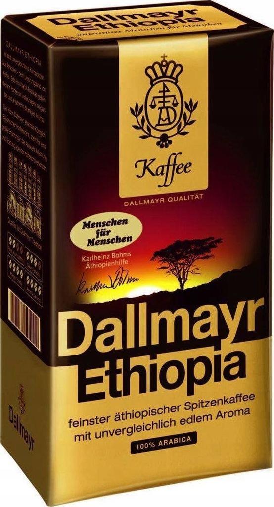Dallmayr Ethiopia 500 g kawa mielona