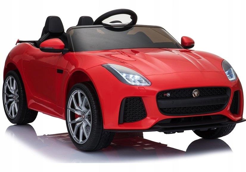 Auto na Akumulator Jaguar F-Type Czerwony Lakier