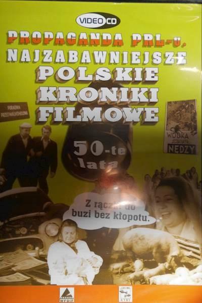 Polskie Kroniki Filmowe 50- te lata - DVD