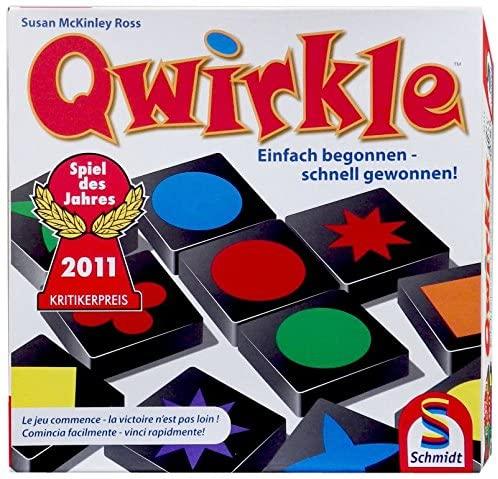 Qwirkle. Gra planszowa/ j.niemiecki/włoski/fr