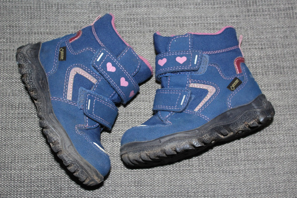 kozaki superfit r. 23 śniegowce Gore-Tex super-fit