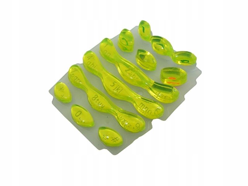 Klawiatura do Nokia 3410 kryształ limonka