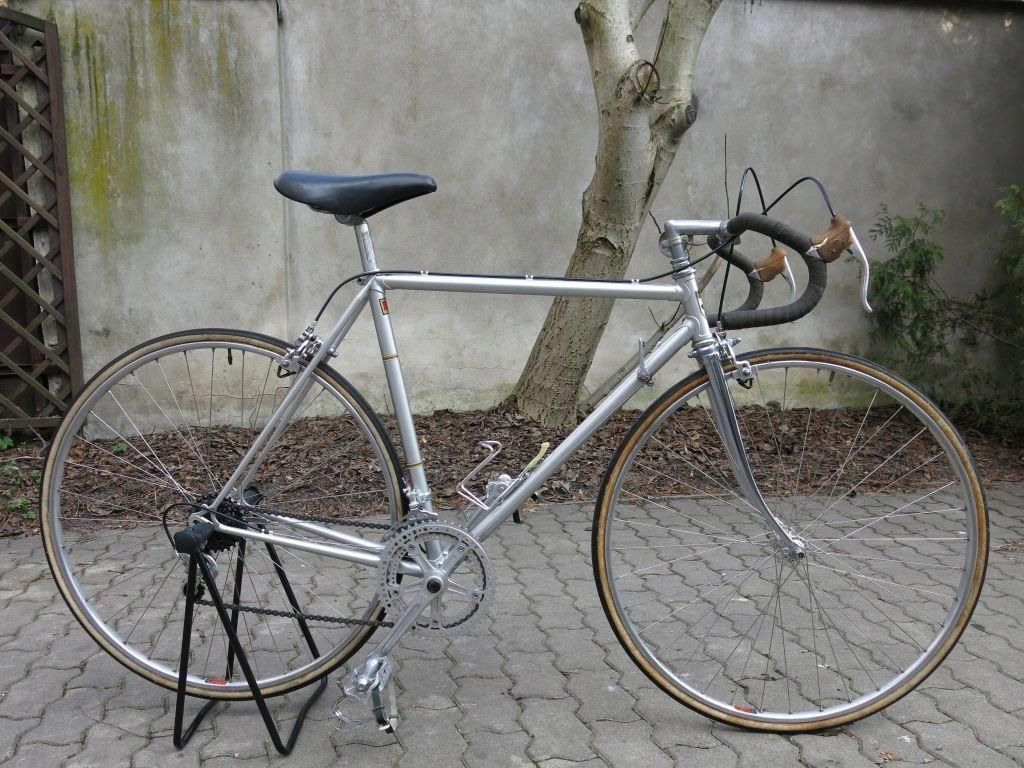 Mała klasyczna kolarzówka Shimano 600 rower szosa