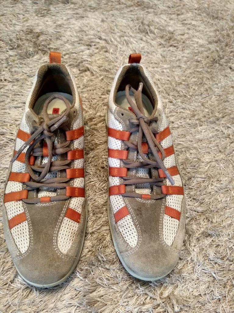 sandały ecco 41 pomarańcz sportowe męskie