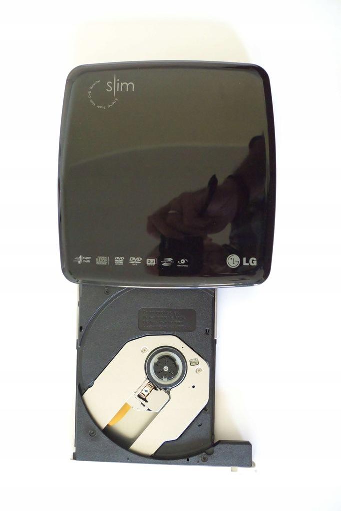Nagrywarka zewnętrzna LG GP08LU11 dvd cd