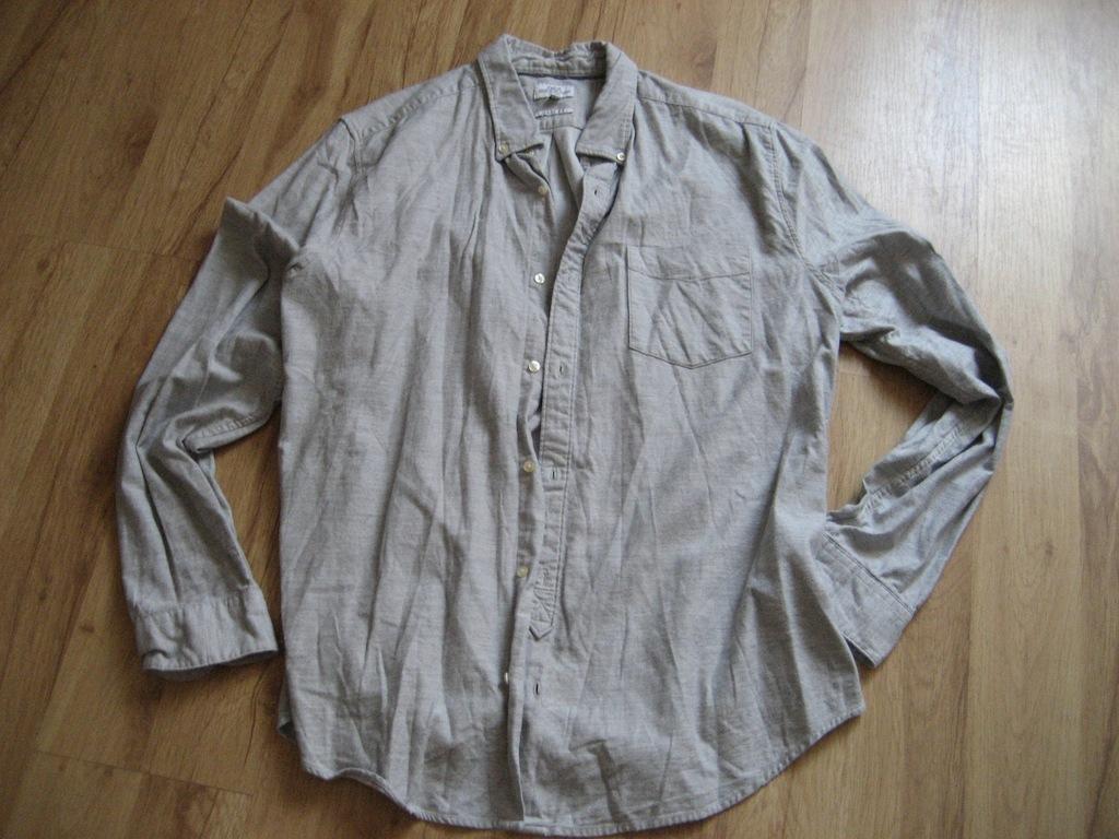 next - koszula ze stójką w drobny wzorek XL