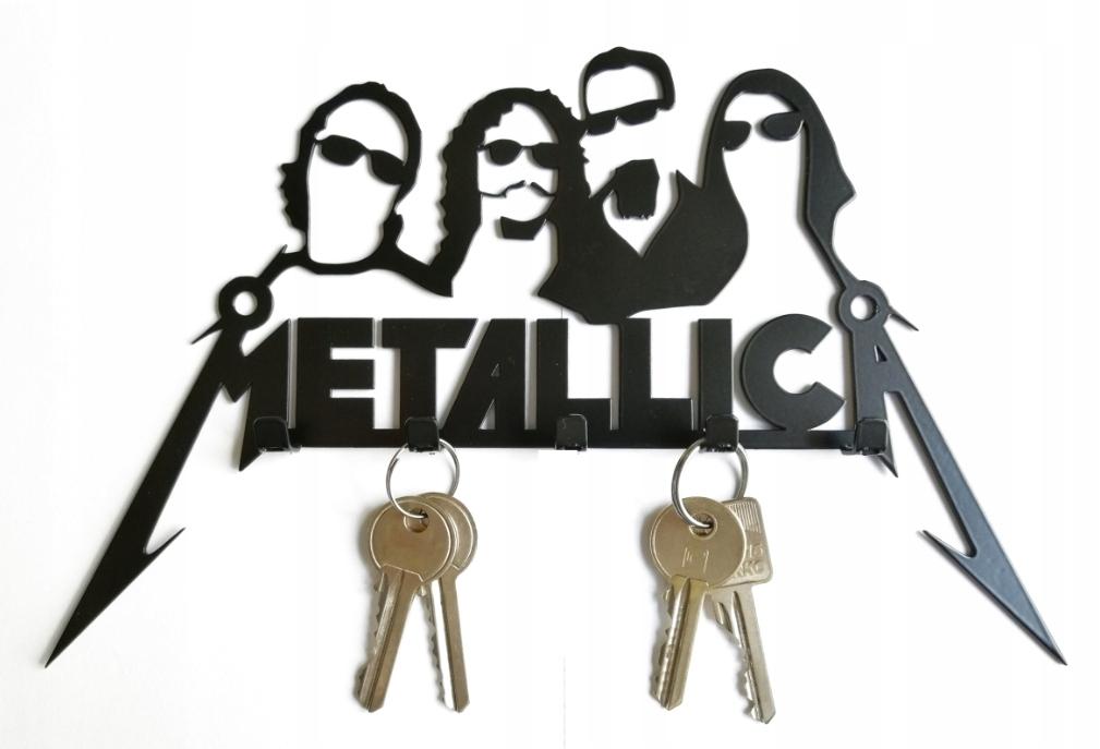 Metallica Wieszak Na Klucze / Dekoracja / Prezent
