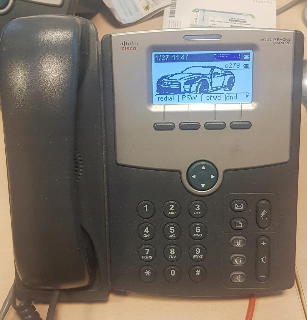 Telefon CISCO SPA502G-używany