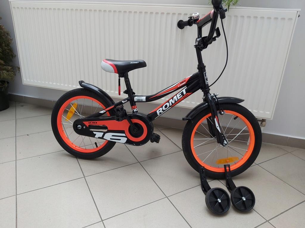 Rower rowerek Romet Tom Kid kola16 cali