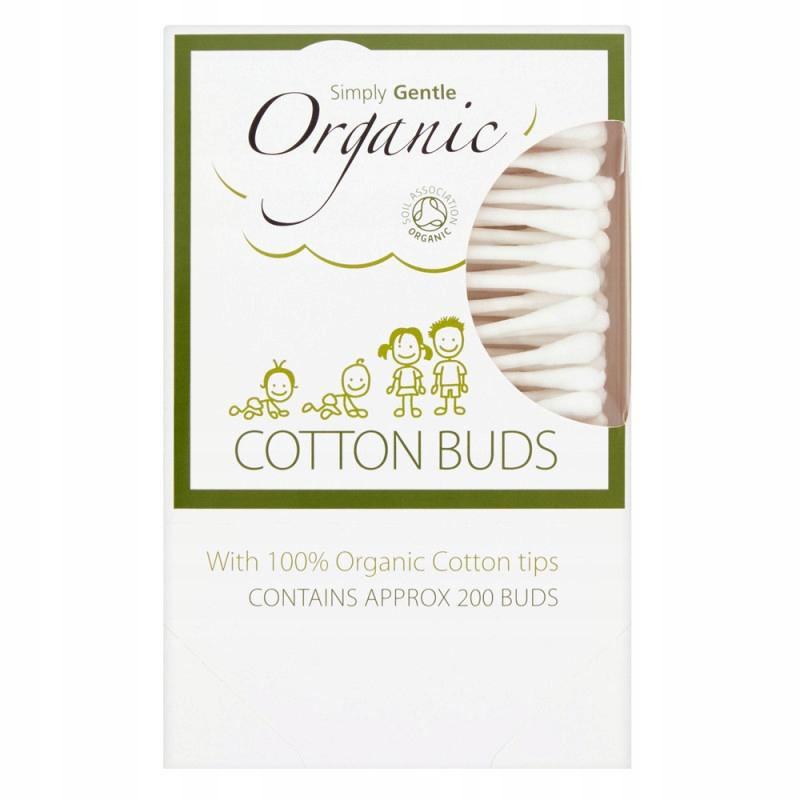 Simply Gentle, Organiczne Patyczki Kosmetyczne do