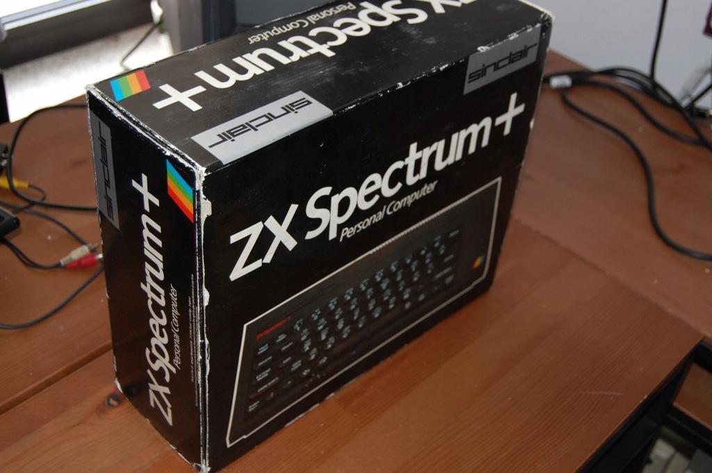 Spectrum Plus ładny BOX Nowa folia klawiatury