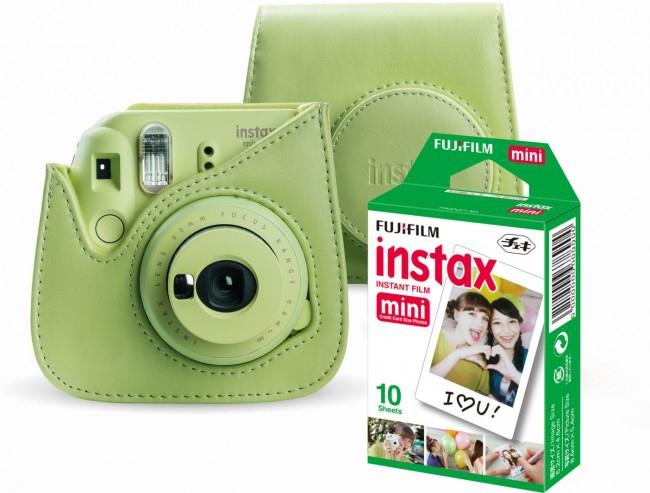 Aparat Fujifilm Instax Mini 9 + etui wkład 1pack