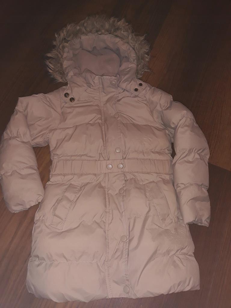 Piękny płaszczyk zimowy YD 6-7l stan BDB