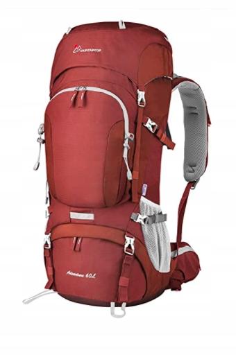 wodoodporny plecak turystyczny 60 l MOUNTAINTOP