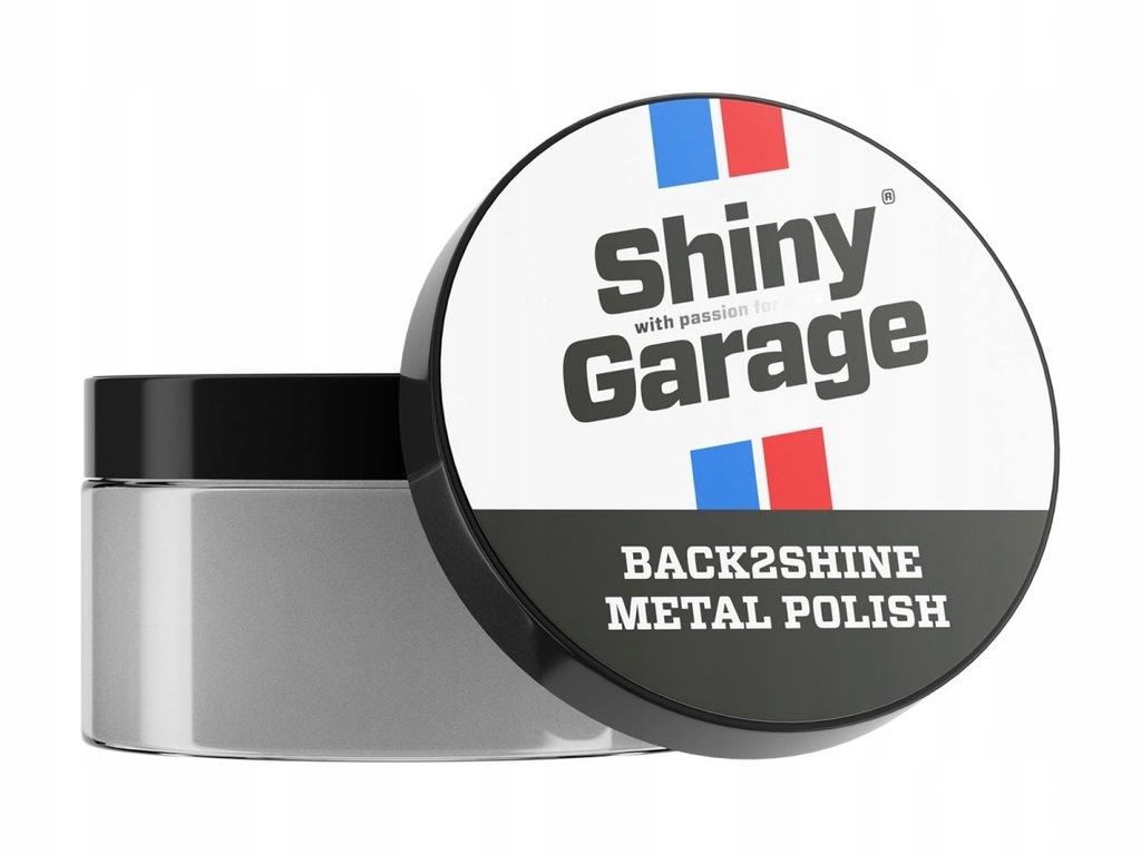 SHINY GARAGE Pasta do polerowania felg i metalu