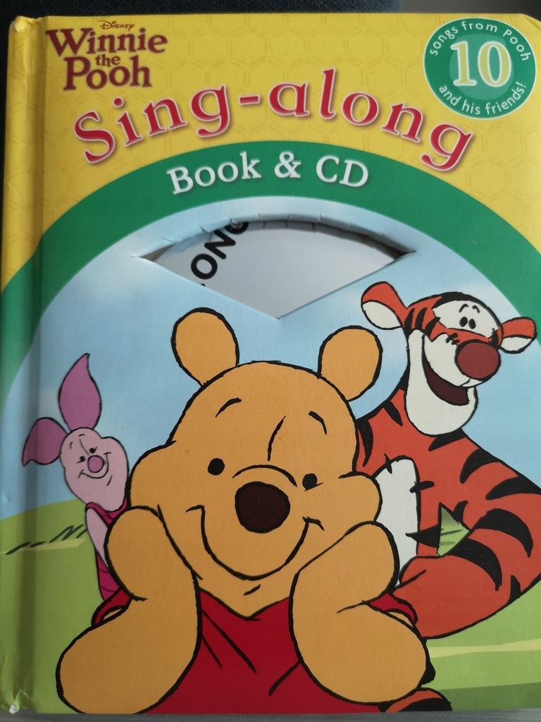 Książka z CD Winnie the Pooh Kubuś Puchatek angUN