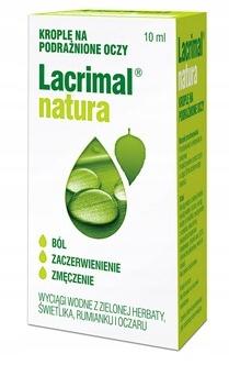 Apteczny Lacrimal Natura krople do oczu 10 ml