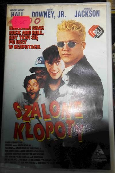 Szalone kłopoty - VHS kaseta video