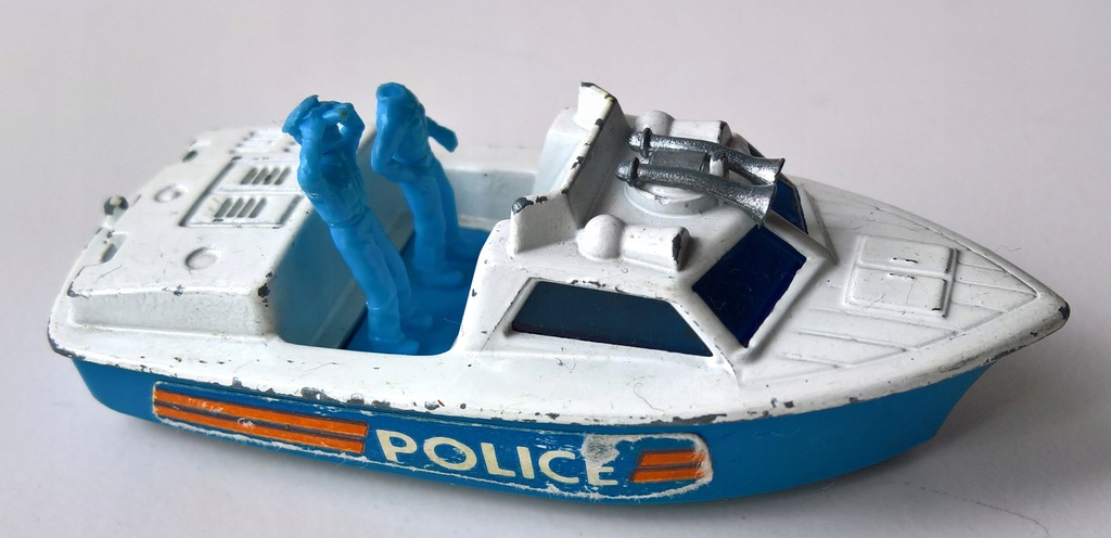 MATCHBOX-POLICE LAUNCH