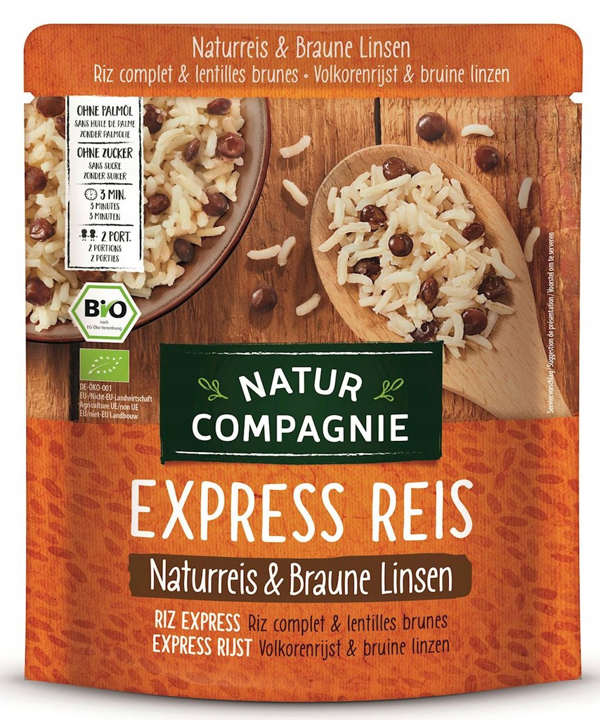 Natur Compagnie Ryż Z Brązową Soczewicą BIO 250 g