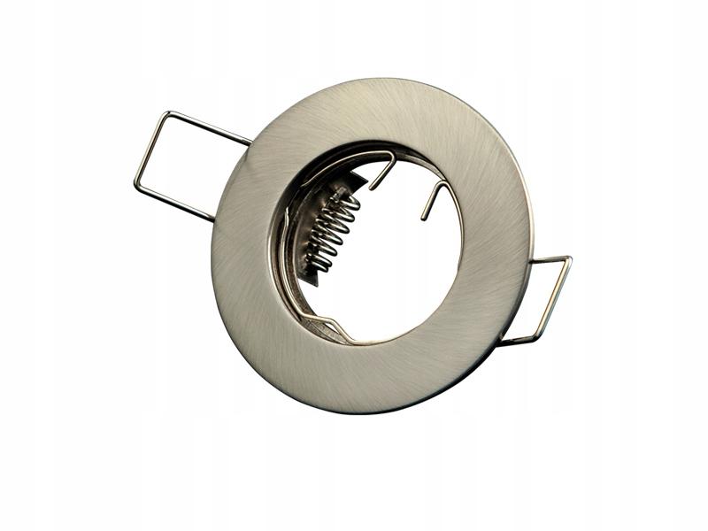 Oprawa sufitowa 35mm okrągła stała MR11 SATYNA