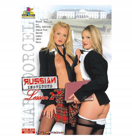 DVD Marc Dorcel - Russian Institute: Lesson 2