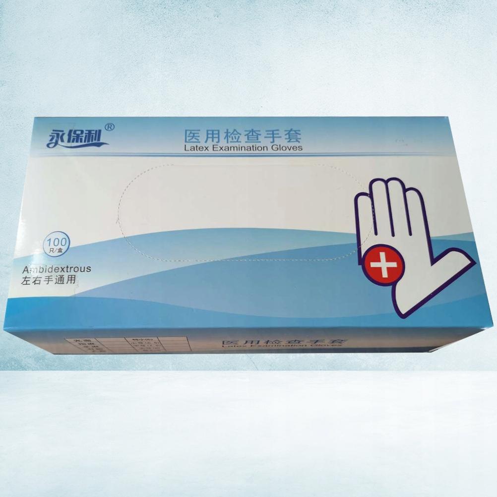 100 sztuk Jednorazowe rękawiczki dziecięce Latekso