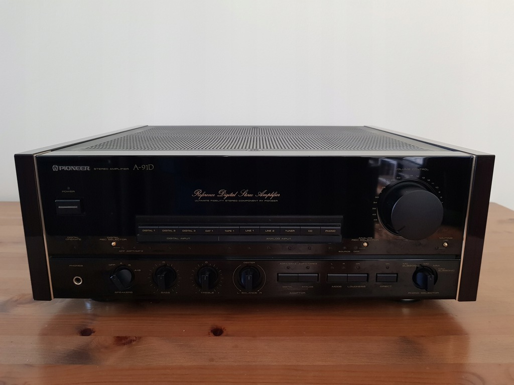 PIONEER A-91D Reference Digital Amplifier