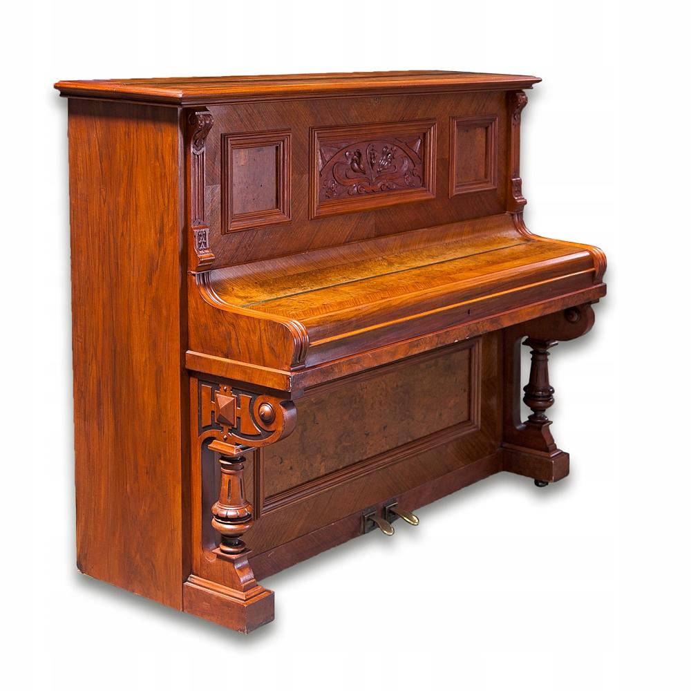 Pianino Julius Kreutzbach z XIX w