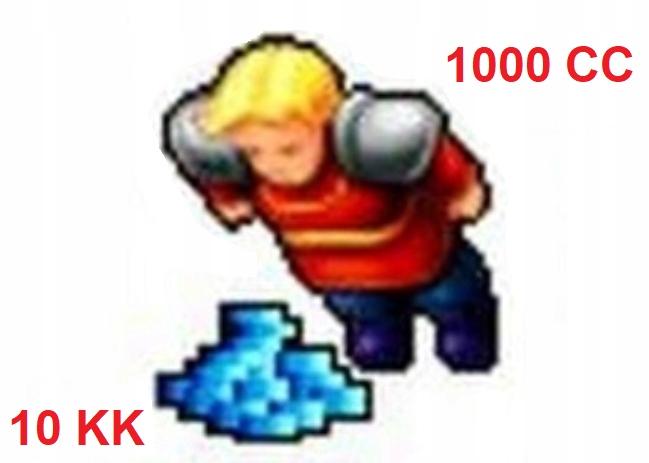 TIBIA REFUGIA 10KK 1000 CC