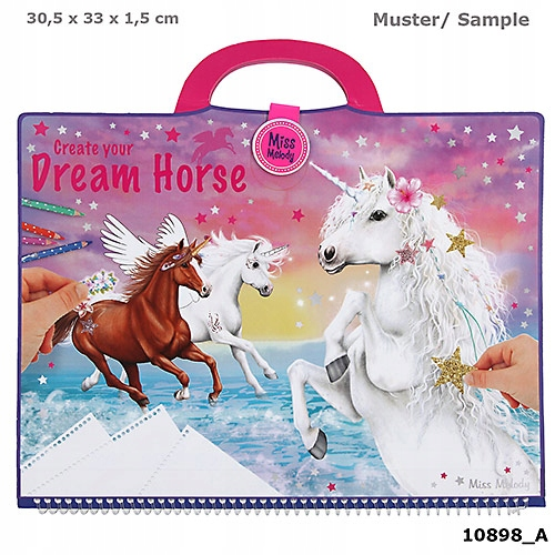 ZESTAW W TECZCE DREAM HORSE MISS MELODY 10898A