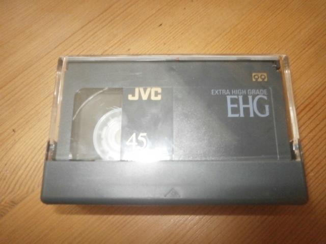 JVC Kaseta VHS-C 45 EHG