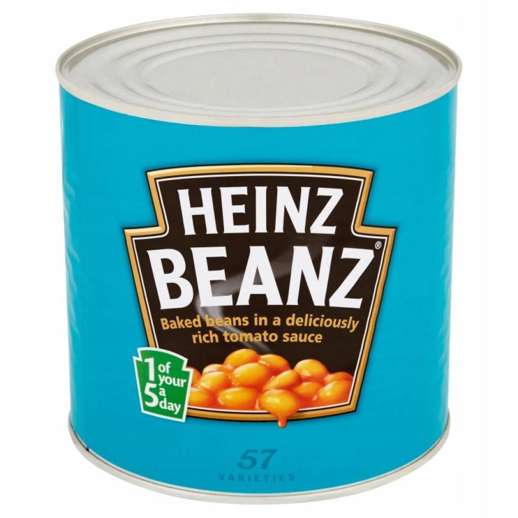 Heinz Beanz Fasolka w sosie pomidorowym 2,62 kg