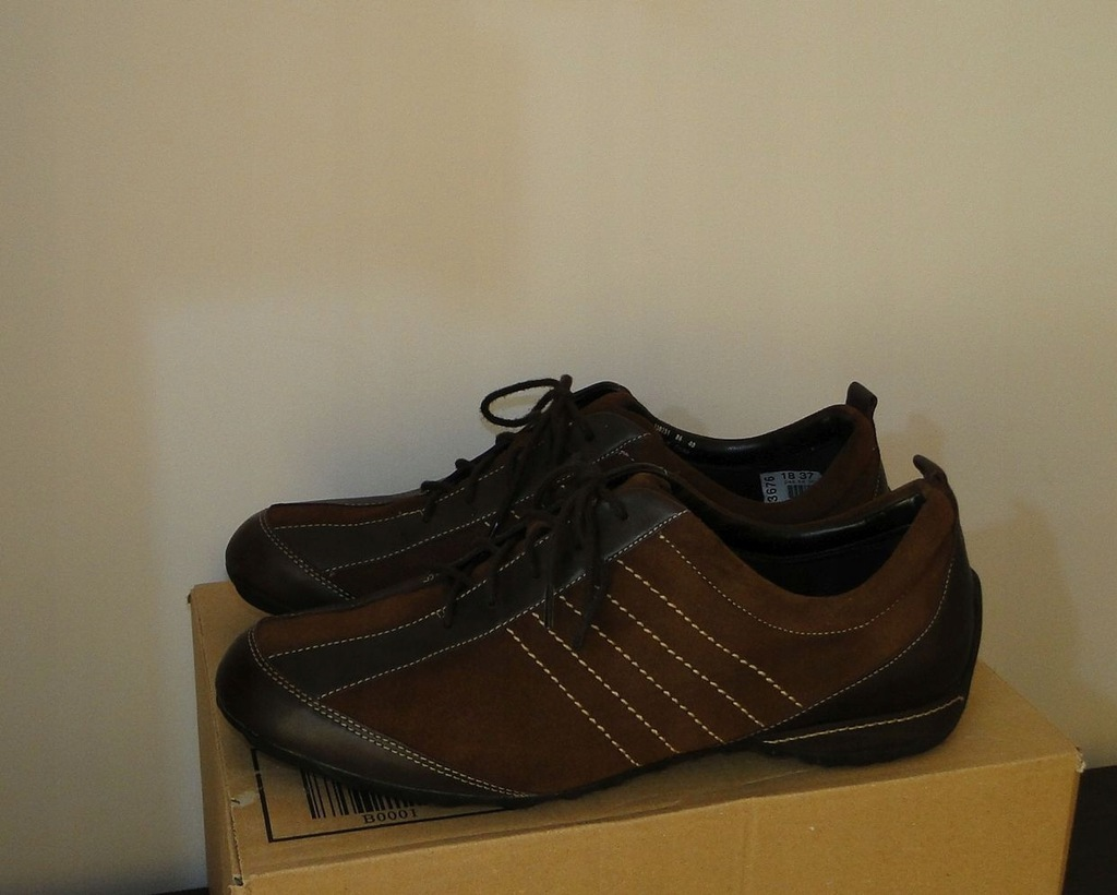 Buty ECCO Brown Summer Low Leather